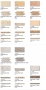 Stonehenge Sizes, colors & decors