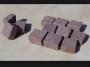 Κύβοι Ροζ 5x10x10 cm